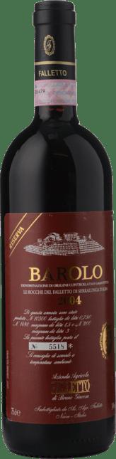 BRUNO GIACOSA Falletto di Serralunga d'Alba Riserva, Barolo 2004