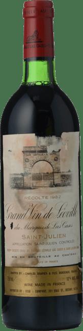 CHATEAU LEOVILLE-LAS-CASES 2me cru classe, St-Julien 1982
