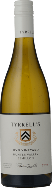 TYRRELL'S Single Vineyard HVD Semillon, Hunter Valley 2019