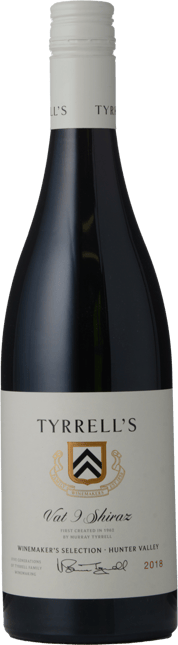 TYRRELL'S Vat 9 Shiraz, Hunter Valley 2018