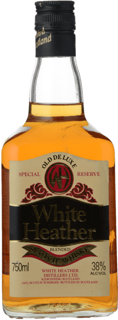 WHITE HEATHER Special Reserve 38% ABV , Scotland NV