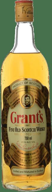 GRANT'S Family Reserve Scotch Whisky 37% ABV, Scotland NV