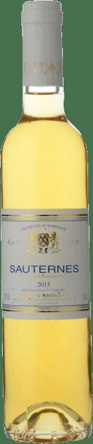 SCHRODER & SCHYLER BOTTLING, Sauternes 2015