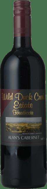 WILD DUCK CREEK ESTATE Alan's Cabernets, Heathcote 2010