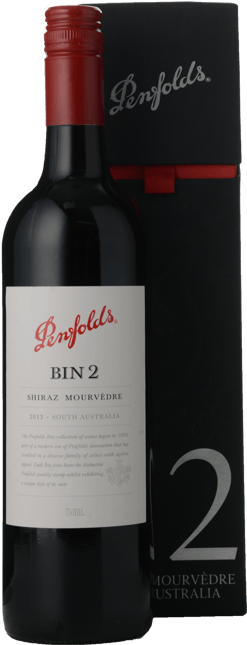 PENFOLDS Bin 2 Shiraz Mourvedre, South Australia 2012