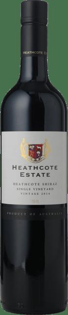 HEATHCOTE ESTATE Single Vineyard Shiraz, Heathcote 2014