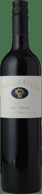 PAUL OSICKA WINES Majors Creek Vineyard Shiraz, Heathcote 2017