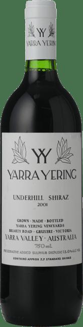 YARRA YERING Underhill Shiraz, Yarra Valley 2001