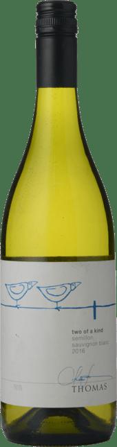 THOMAS WINES Two Of A Kind Semillon Sauvignon Blanc, Hunter Valley-Adelaide Hills 2016