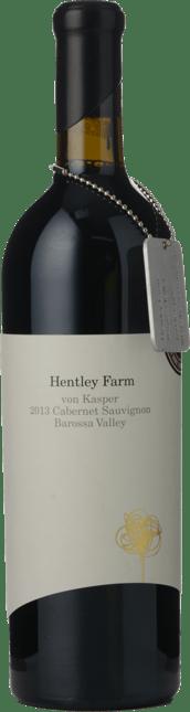 HENTLEY FARM Von Kasper Cabernet Sauvignon, Barossa Valley 2013