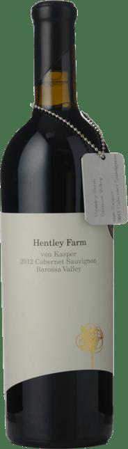 HENTLEY FARM Von Kasper Cabernet Sauvignon, Barossa Valley 2012