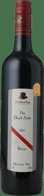 D'ARENBERG WINES The Dead Arm Cabernet Shiraz, McLaren Vale 2006