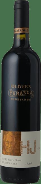 OLIVER'S TARANGA VINEYARDS HJ Reserve Shiraz, McLaren Vale 2005