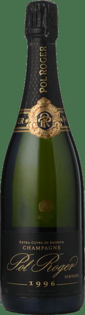 POL ROGER  Extra Cuvee  de Reserve Pure, Champagne 1996