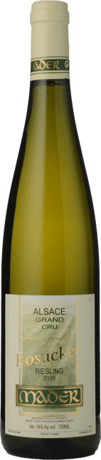 DOMAINE JEAN LUC MADER Rosacker Riesling, Hunawihr 2009