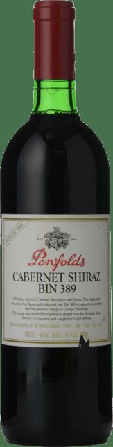 PENFOLDS Bin 389 Cabernet Shiraz, South Australia 1988