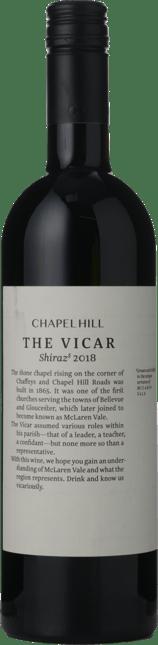 CHAPEL HILL The Vicar Shiraz, McLaren Vale 2018