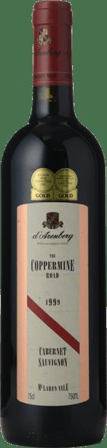 D'ARENBERG WINES The Coppermine Road Cabernet Sauvignon, McLaren Vale 1999
