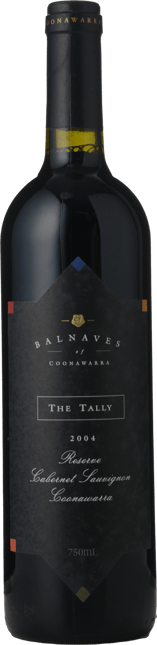 BALNAVES OF COONAWARRA The Tally Reserve Cabernet Sauvignon, Coonawarra 2004