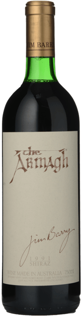 JIM BARRY WINES The Armagh Shiraz, Clare Valley 1991