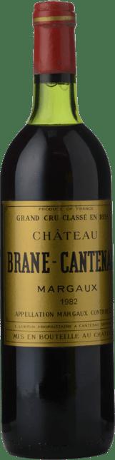 CHATEAU BRANE-CANTENAC 2me cru classe, Cantenac-Margaux 1982