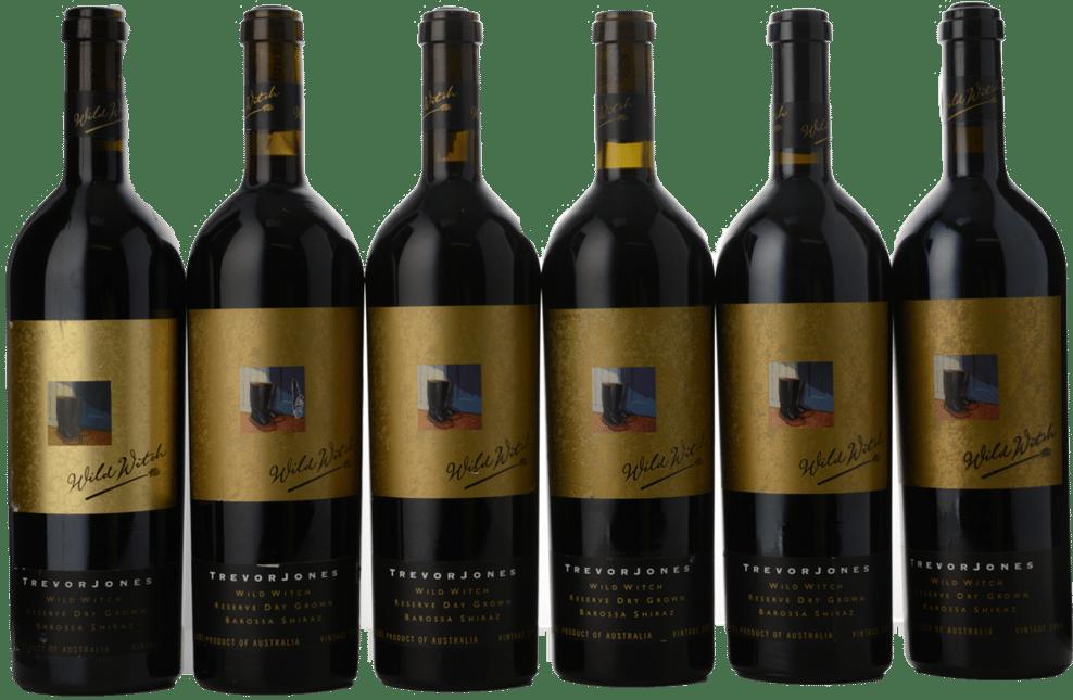 KELLERMEISTER WINES Trevor Jones Wild Witch RDG Vertical 6 bottle set Shiraz, Barossa Valley MV