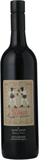 MAGPIE ESTATE The Wit & Shanker Cabernet Sauvignon, Barossa Valley 2016
