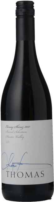 THOMAS WINES Elenay Barrel Selection Shiraz, Hunter Valley 2017