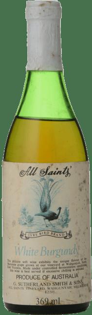 ALL SAINTS White Burgundy, North East Victoria NV