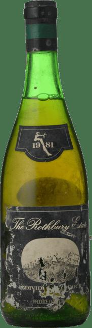 ROTHBURY ESTATE Individual Paddock Chardonnay, Cowra 1981