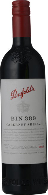 PENFOLDS Bin 389 Cabernet Shiraz, South Australia 2015