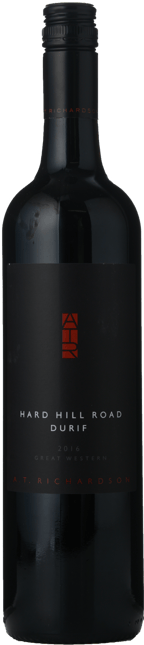 A.T.RICHARDSON WINES Hard Hill Road Durif, Great Western 2016