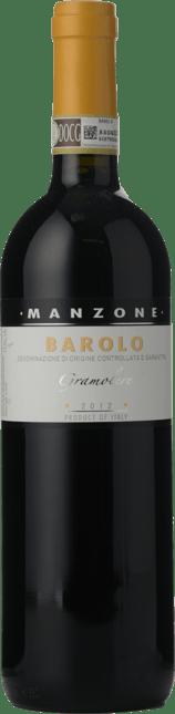 MANZONE Le Gramolere, Barolo 2012