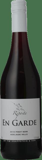 RIPOSTE BY TIM KNAPPSTEIN En Garde Pinot Noir, Adelaide Hills 2016