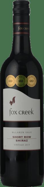 FOX CREEK WINES Short Row Shiraz, McLaren Vale 2015