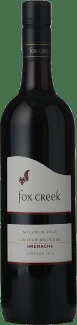 FOX CREEK WINES Limited Release Grenache, McLaren Vale 2016