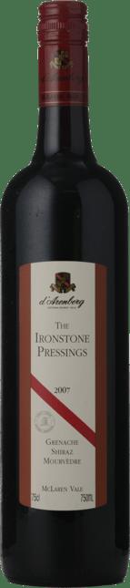 D'ARENBERG WINES The Ironstone Pressings Grenache Shiraz Mourvedre, McLaren Vale 2007