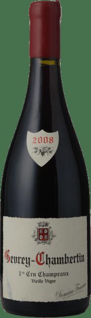 DOMAINE FOURRIER Champeaux Vieille Vigne 1er cru, Gevrey-Chambertin 2008