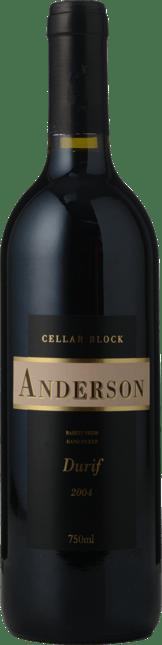 ANDERSON WINERY Cellar Block Durif, Rutherglen 2004