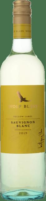 WOLF BLASS WINES Yellow Label Sauvignon Blanc, South Australia 2019