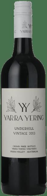 YARRA YERING Underhill Shiraz, Yarra Valley 2013