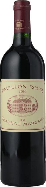 PAVILLON ROUGE DU CHATEAU MARGAUX Second wine of Chateau Margaux, Margaux 2010