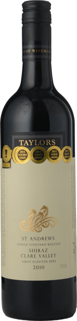 TAYLORS WINES St. Andrews Shiraz, Clare Valley 2010