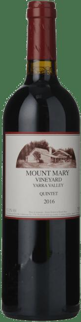 MOUNT MARY Quintet Cabernet Blend, Yarra Valley 2016