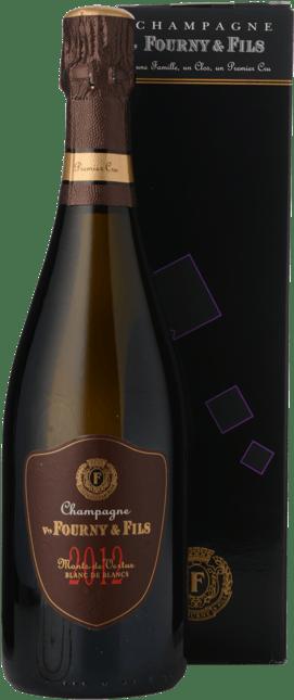VEUVE FOURNY ET FILS Monts de Vertus Blanc de Blancs Premier Cru Extra Brut , Champagne 2012