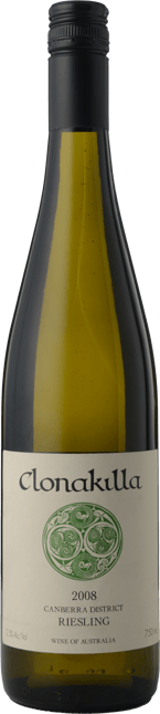 CLONAKILLA Riesling, Canberra District 2008