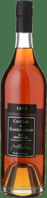 CHATEAU SANDEMAGNAN Michel Guerard 40.5% ABV, Bas Armagnac 1980