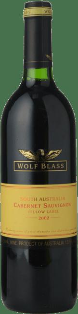 WOLF BLASS WINES Yellow Label Cabernet Sauvignon, South Australia 2002