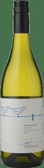THOMAS WINES Two Of A Kind Semillon Sauvignon Blanc, Hunter Valley-Adelaide Hills 2019