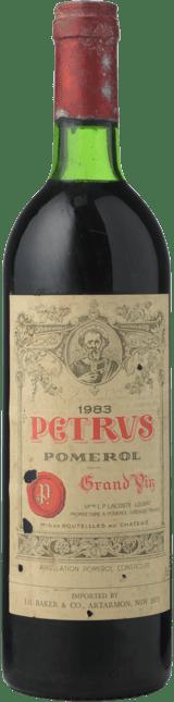 CHATEAU PETRUS Cru exceptionnel, Pomerol 1983
